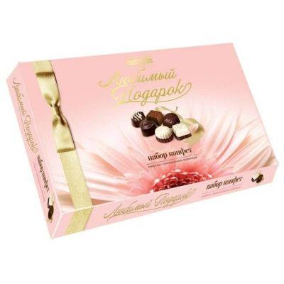 Конфеты в коробке Славянка Любимый подарок