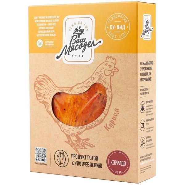 Куриная грудка Су-Вид Ваш Мясодел в соусе-маринаде