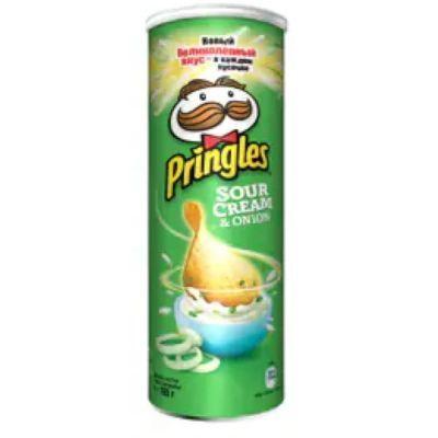 Чипсы Pringles Xtra Сметана-Лук