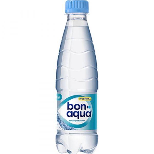 Вода минеральная BonAqua негазированная ПЭТ