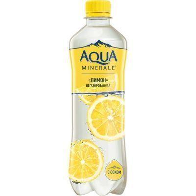 Напиток Аква Минерале Лимон с соком ПЭТ