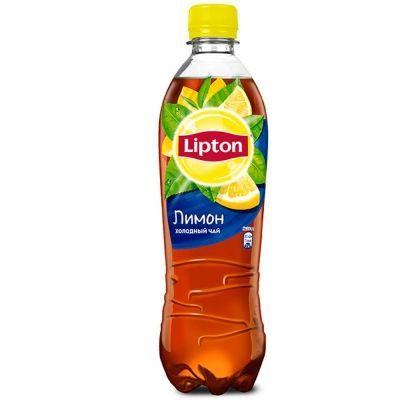 Холодный чай Липтон Лимон негазированный ПЭТ
