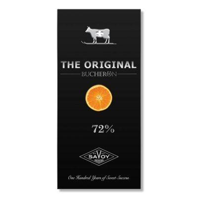 Шоколад горький The Original с кусочками апельсина в картоне