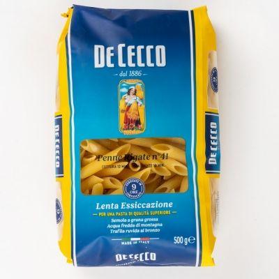 Макароны Де Чекко из твердых сортов пшеницы Пенне Ригате-41