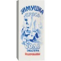 Соль Зимушка Краса йодированная (картон)