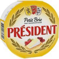 Сыр мягкий Президент Petit Brie с белой плесенью 60%