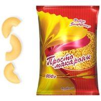 Макаронные изделия Просто макароны Рожок Полубублик №202