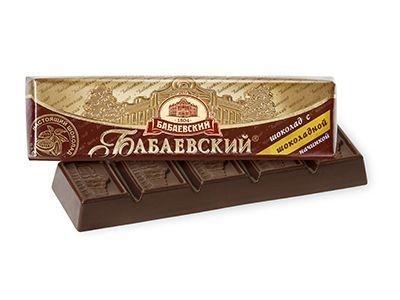 Батончик 'Бабаевский' с шоколадной начинкой
