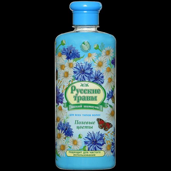 Шампунь Русские Травы Полевые Цветы
