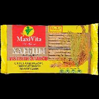Хлебцы Maxi Vita Пшеничные волокна, 5 злаков