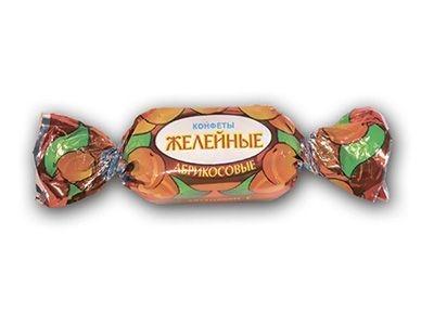 Конфеты 'Желейные' со вкусом абрикоса