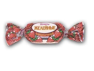 Конфеты 'Желейные' со вкусом клубники