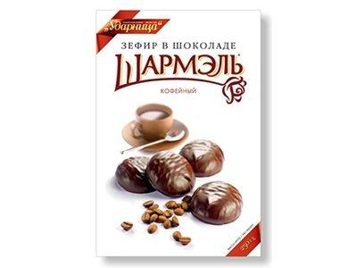 Зефир в шоколаде 'Шармэль' кофейный