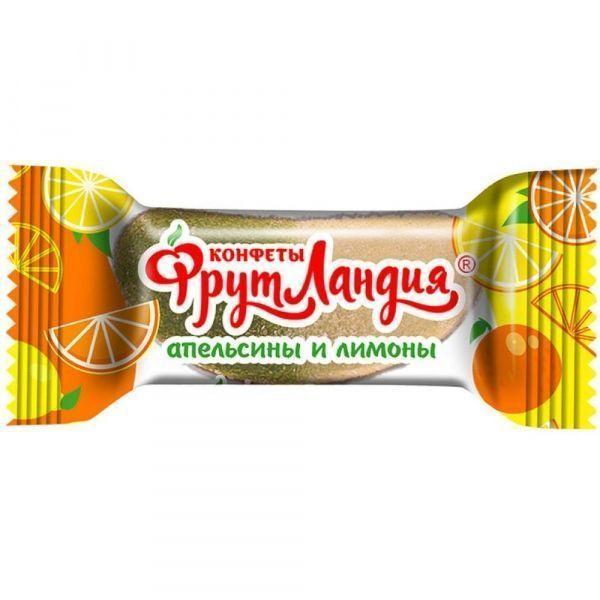 Конфеты Фрутландия Апельсинов и Лимонов