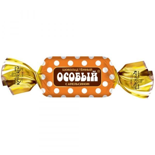 Шоколад Фабрика имени Крупской Особый мини с апельсином