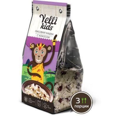 Рисовая кашка с кокосом Yelli Kids
