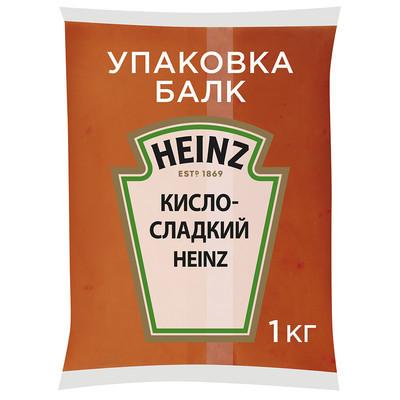 Соус Heinz деликатесный кисло-сладкий оригинальный балк