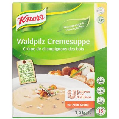 Крем-суп Knorr лесные грибы
