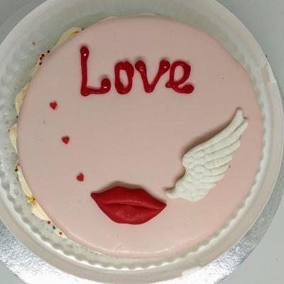 Торт Чайная Роза Воздушный поцелуй