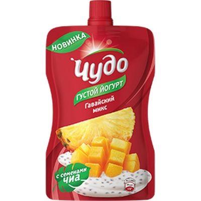 Йогурт фруктовый Чудо 2,6% гавайс микс д/п