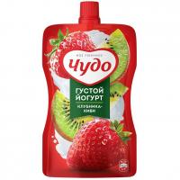 Йогурт фруктовый Чудо 2,6% клубника, киви д/п