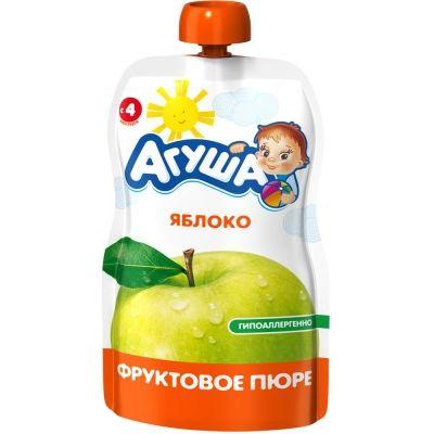 Пюре фруктовое Агуша яблоко детское питание м/у
