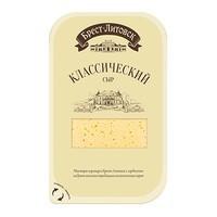 Сыр Брест-Литовский Савушкин продукт 45% классический слайсы