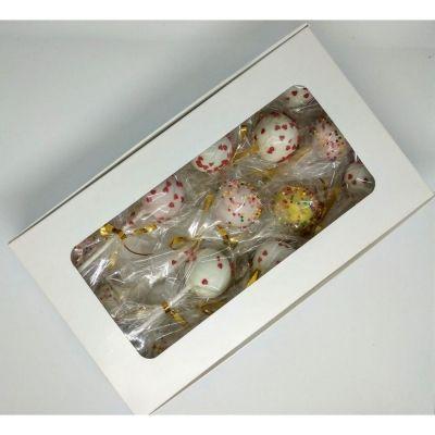 Пирожное Чайная Роза Кейкпопс в подарочной упаковке (30г*10шт)
