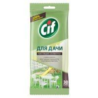 Салфетки влажные Cif для очищения поверхностей Универсальные (для дачи) 30 шт