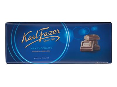 Молочный шоколад 'Karl Fazer'