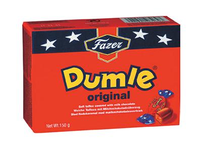 Конфеты 'Dumle' сливочный ирис в шоколаде
