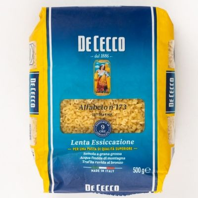 Макаронные изделия 'De Cecco' Альфабето №173