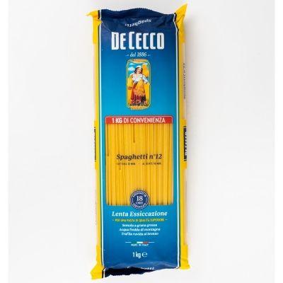 Макаронные изделия 'De Cecco' Спагетти №12 пл