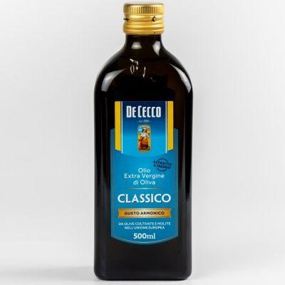 Масло 'De Cecco' Классик оливковое нерафинированное Extra vergine, ст.бут.