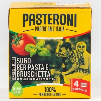Соус томатный Pasteroni с базиликом для пасты и брускетты Tetra Pak