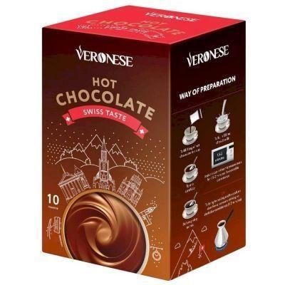 Горячий шоколад Veronese по-швейцарски 10 шт.