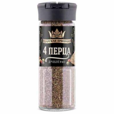 4 перца дробленые Царская приправа (солонка)
