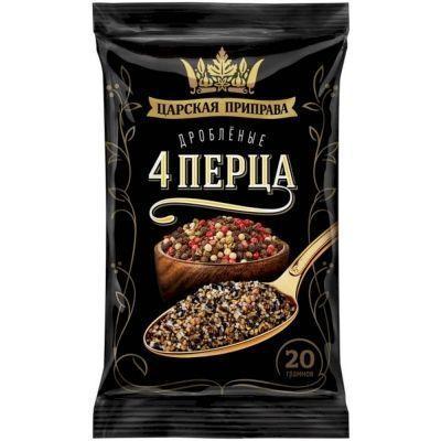4 перца дробленые Царская приправа (пакет)