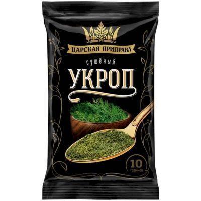 Укроп зелень сушеная Царская приправа (пакет)