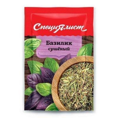 Базилик зелень сушеная СпециЯлист (пакет)