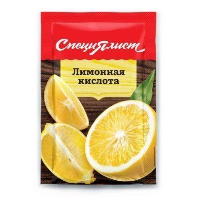 Лимонная кислота СпециЯлист (пакет)