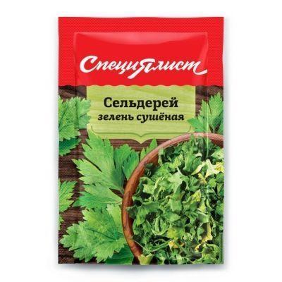 Сельдерей зелень сушеная СпециЯлист (пакет)
