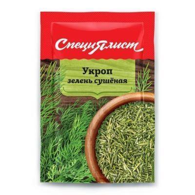 Укроп зелень сушеная СпециЯлист (пакет)