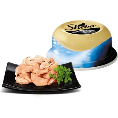 Корм Шеба сочный тунец в нежном соусе