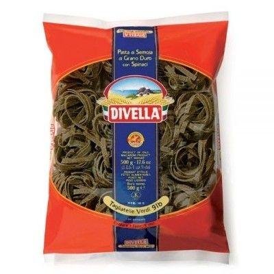 Паста Divella Тальятелле гнезда со шпинатом