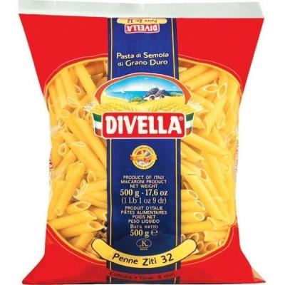 Макаронные изделия Divella Пенне Зити 32 из твердых сортов пшеницы