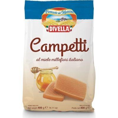 Печенье Divella Кампетти с медом
