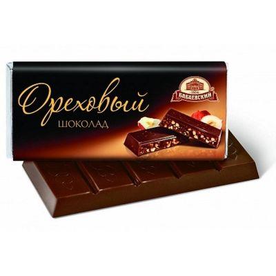 Шоколад Бабаевский Ореховый