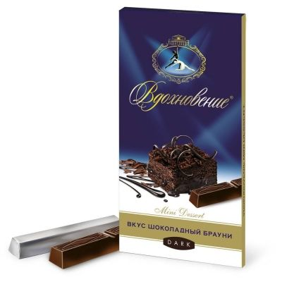 Шоколад Вдохновение Mini Dessert вкус Шоколадный брауни