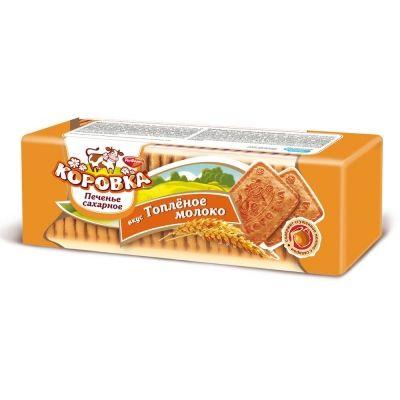 Печенье Коровка вкус топленое молоко